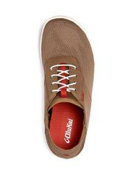 Olukai - Brown Nohea Moku Slip On Sneakers for Men - Lyst