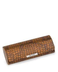 Corinne Mccormack - Brown Leather Glasses Case - Lyst
