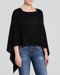 Magaschoni | Black Three-way Cashmere Poncho | Lyst