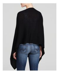 Magaschoni - Black Three-way Cashmere Poncho - Lyst