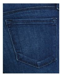 J Brand - Blue Charlene Mid Rise Bootcut Jeans In Delight - Lyst