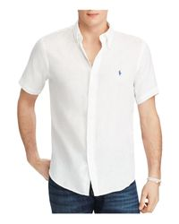 Polo Ralph Lauren | White Ocean-wash Classic Fit Button-down Shirt for Men | Lyst