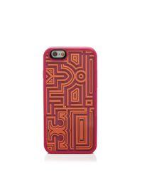 Tory Burch | Orange Gallery Game Iphone 6 Case | Lyst
