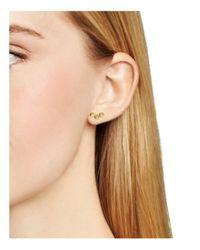 Aqua - Metallic Cami Earrings, Set Of 3 Pairs - Lyst