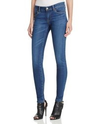 Burberry | Blue Skinny Jeans In Mid Indigo | Lyst