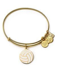 ALEX AND ANI - Metallic Team Usa Volleyball Expandable Wire Bangle - Lyst