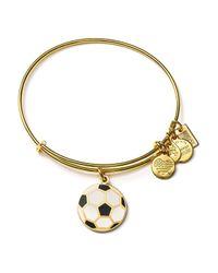 ALEX AND ANI | Metallic Team Usa Soccer Expandable Wire Bangle | Lyst