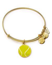 ALEX AND ANI - Metallic Team Usa Tennis Expandable Wire Bangle - Lyst