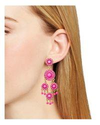 BaubleBar | Pink Sundrop Earrings | Lyst