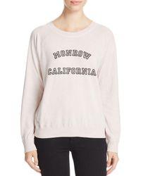 Monrow - Multicolor California Raglan Sweatshirt - Lyst