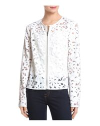Bagatelle - White Lace Jacket - Lyst