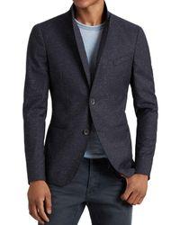 John Varvatos - Blue Luxe Speckle Slim Fit Sport Coat for Men - Lyst