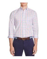 Vineyard Vines - Blue Grace Bay Plaid Tucker Classic Fit Button Down Shirt for Men - Lyst