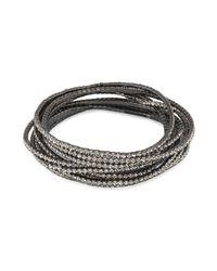 ABS By Allen Schwartz - Metallic Stretch Bracelets, Set Of 20 - Lyst