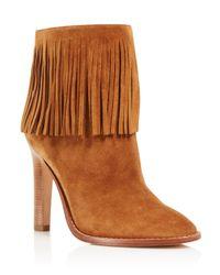 Joie | Brown Cambrie High Heel Booties - 100% Exclusive | Lyst