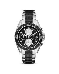 Michael Kors | Metallic Landaulet Chronograph Black Stainless Steel Watch Mk8371 for Men | Lyst