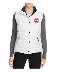 Canada Goose   White Freestyle Down Vest   Lyst