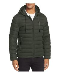 Andrew Marc | Green Packable Quilted Down Jacket for Men | Lyst