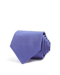 Eton of Sweden | Blue Of Sweden Oval Classic Tie for Men | Lyst