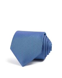Eton of Sweden | Blue Of Sweden Dotted Classic Tie for Men | Lyst