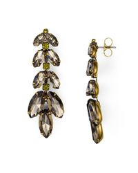 Sorrelli - Metallic Swarovski Crystal Drop Earrings - Lyst