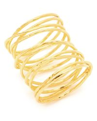 Gorjana | Metallic Lola Crisscross Wire Ring | Lyst