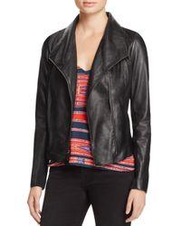 Aqua | Black Leather Jacket - 100% Exclusive | Lyst