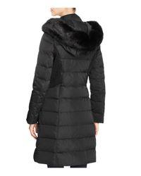 T Tahari | Black Felicity Long Puffer Coat | Lyst