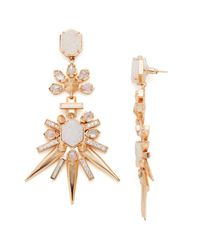 Kendra Scott | Metallic Isadora Drop Earrings | Lyst