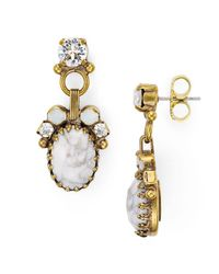 Sorrelli | Metallic Crystal Drop Earrings | Lyst