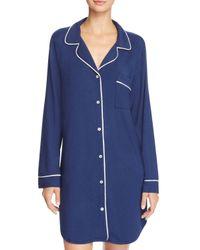 Eberjey   Blue Gisele Sleepshirt   Lyst