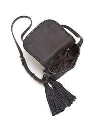 kate spade new york - Black Small Anderson Way Lietta Saddle Bag - Lyst