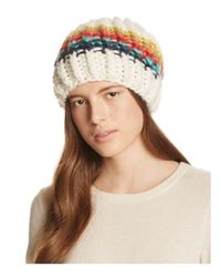 Free People | Multicolor Over The Rainbow Beanie | Lyst