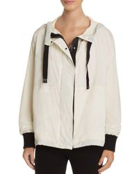 DKNY | Multicolor Color Block Hooded Jacket | Lyst