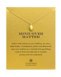 "Dogeared | Metallic Mind Over Matter Necklace, 18"" | Lyst"
