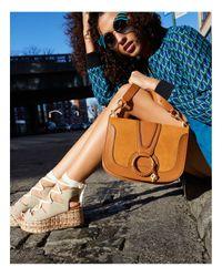 See By Chloé - Multicolor Hana Suede Shoulder Bag - Lyst