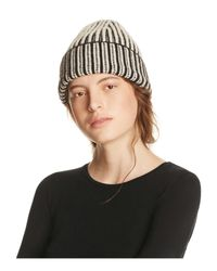 Free People | Multicolor Berkley Two-tone Beanie | Lyst