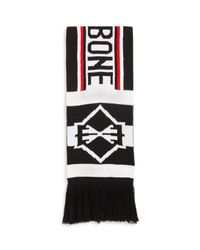 Rag & Bone - Black Matthew Scarf for Men - Lyst