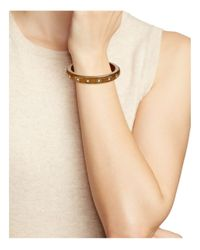 kate spade new york - Brown Out Of Her Shell Bangle - Lyst