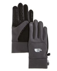 The North Face | Gray E-tip Gloves for Men | Lyst