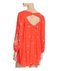 Free People - Sweet Tennessee Embroidered Dress - Lyst