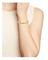 Tory Burch - Multicolor Oro Striped Bangle - Lyst