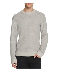 Joe's Jeans | Gray Alpaca Blend Heathered Sweatshirt for Men | Lyst