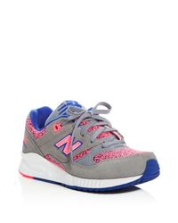 New Balance   Pink Women's 530 Kinetic Imagination Lace Up Sneakers   Lyst