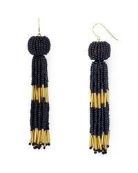 Vanessa Mooney | Multicolor Damzel Beaded Tassel Drop Earrings | Lyst