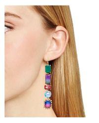kate spade new york | Metallic Color Crush Drop Earrings | Lyst