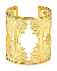 Yuwei - Metallic Shell Cuff - Lyst