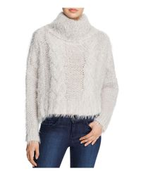Free People | White Isle Of Sky Textured Sweater | Lyst