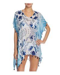 Surf Gypsy   Blue Aztec Tassel Tunic Swim Cover-up   Lyst