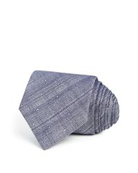 John Varvatos | Blue Faded Dot Neat Classic Tie for Men | Lyst